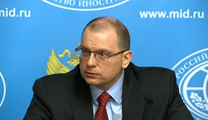 Konstantin Dolgov, Human Rights Commissioner for the Russian Foreign Ministry [Image: voiceofrussia.com]