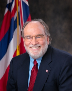 Neil Abercrombie is to sign same-sex marriage legislation into law later today. [Image: Wikipedia]