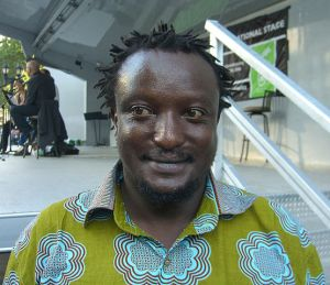 Kenyan author, Binyavanga Wainaina [Image: Luigi Novi / Wikipedia]