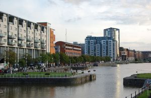 Limerick City, as seen from the quays along the River Shannon. [Image: Luke M. Curley]