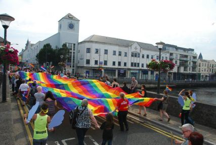 Galway Pride, also known as Bród, is one of the city's most colourful festivals. [Image: Amach LGBT]