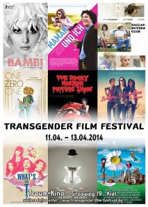 The Transgender Film Festival is an annual event at the Traum Cinema in Kiel, Germany. [Image: foerdefluesterer.de]