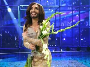 Eurovision 2014 Winner, Conchita Wurst [Image: Facebook/BBC Eurovision]