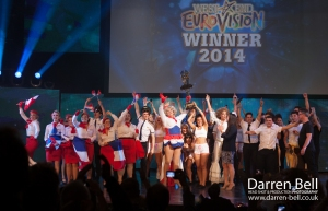 The final West End Eurovision took place in London recently. [Image: Darren Bell]