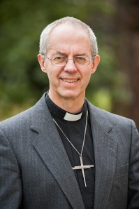 The Archibishop of Canterbury, the Most Rev. Justin Welby