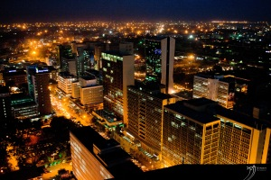Nairobi at night. [Image: Manni Singh]