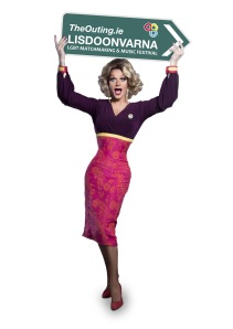 Ireland's legendary drag queen, Panti Bliss, will be the host with the most at The Outing, Ireland's LGBT Matchmaking Festival.