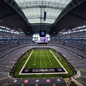 The AT&T Stadium in Arlington, TX, is the home of the Dallas Cowboys NFL team. [Image: Facebook]
