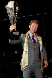 Stuart Hatton, Mr Gay UK, won the title of Mr Gay World 2014 in Rome. [Image: Facebook]