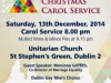 16th Annual Christmas Carol Service for LGBTCommunity