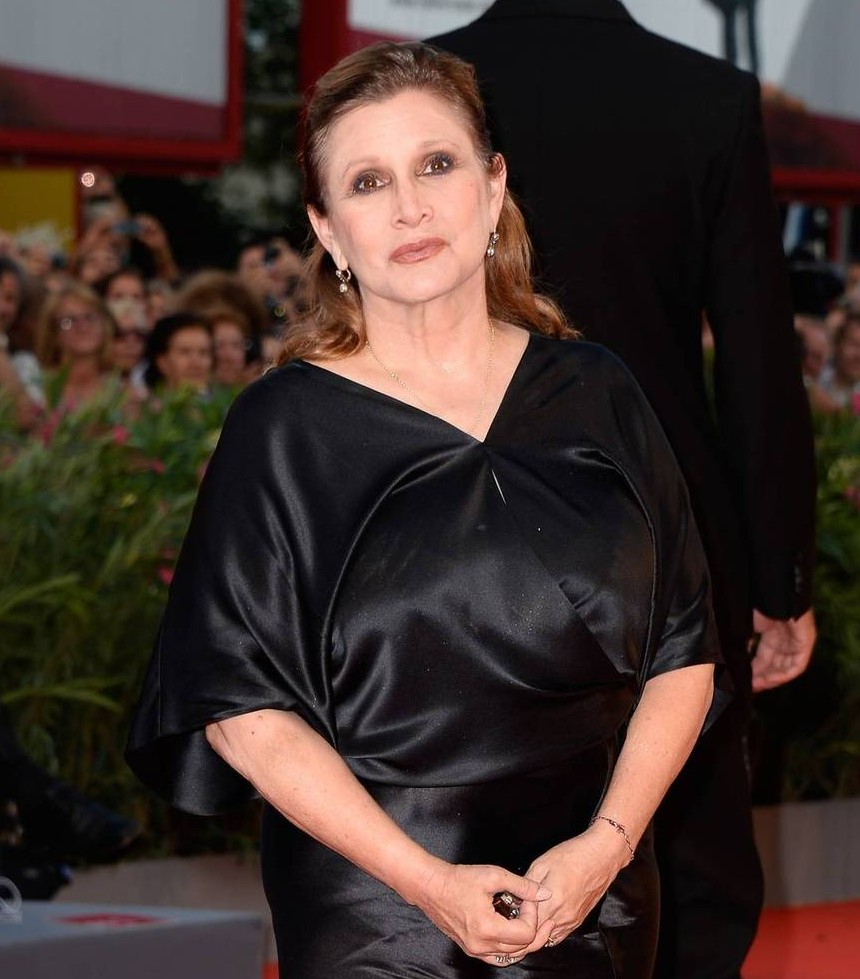 Stephen fry to present oscar wilde award to carrie fisher for Carrie fisher home
