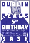 Don't Miss! Fabulous Dublin Bears' 5th Birthday Bash, Boteco, 2nd May!!