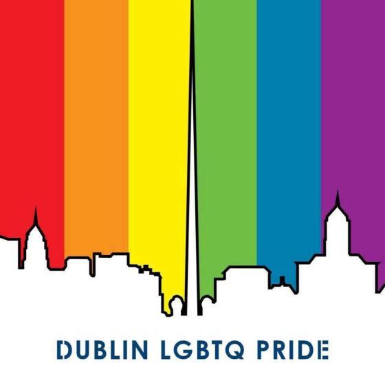 Dublin LGBTQ Pride logo