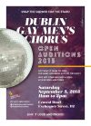 Dublin Gay Men's Chorus Auditions for New Singers  to Join its SuperTroupe