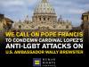 HRC: Pope Must Condemn Cardinal Lopez's Anti-LGBT Slurs Against USAmbassador