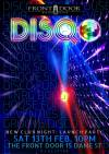 Tonight: DISQO! Dublin's Latest Disco/Funk/80s Night At The Front Door