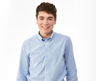 Actor Noah Galvin plays Kenny in The Real O'Neals