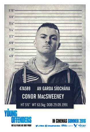 Conor - The Young Offenders in Irish cinemas 16th September (Custom)