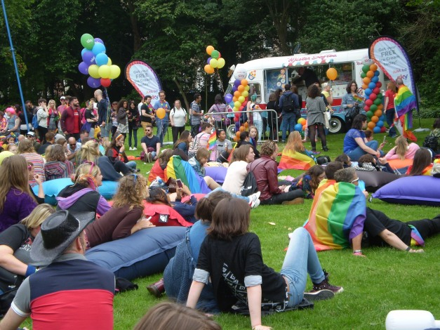 Pride Day 2016 Merrion Square Park Photo: M. Butler, EILE Magazine