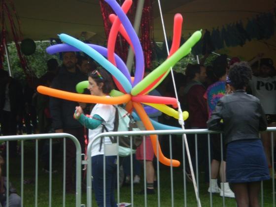 Long balloons