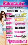 Girlie Circuit Festival: Barcelona 9 – 14August