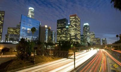 Los-Angeles-Skyline-And-Freewa-4583042