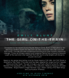 Film: The Girl On The Train, in Irish Cinemas 5th October