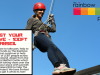 NI: Rainbow Project Abseil – 100ft off Belfast Castle – do you have the nerve?