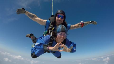 Stonewall UK: Jump For Equality 2018 Skydiving Event | EILE