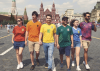 Russia: LGBT Activists stage covert rainbow protest during World Cup