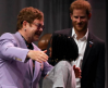 Prince Harry & Elton John launch HIV campaign targeting men