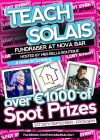Fundraiser: Teach Solais at the Nova Bar Galway – 29th September