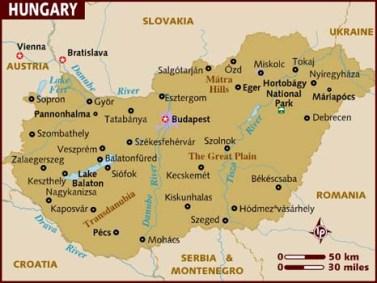map_of_hungary