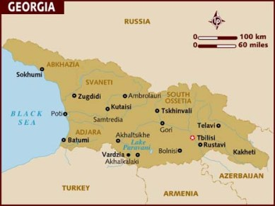 map_of_georgia lonely planet