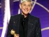 DeGeneres applauds uplifting TV as she accepts Golden Globeshonour
