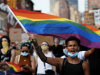LGBT+ marches from London to New York call for end to racism