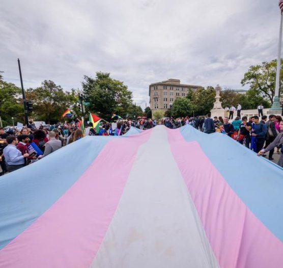 Trans flag - Image: forbes.com