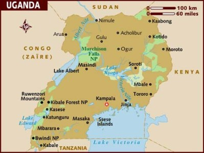 map_of_uganda lonelyplanet com