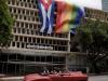 Cuba: Havana dons giant rainbow flags for LGBT+rights