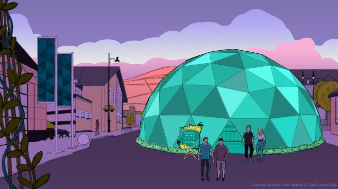 thumbnail_GeoDome_Sketch_01_Evening_